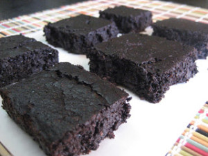 Healthy Fudge Brownies-1