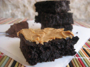 Healthy Fudge Brownies-3