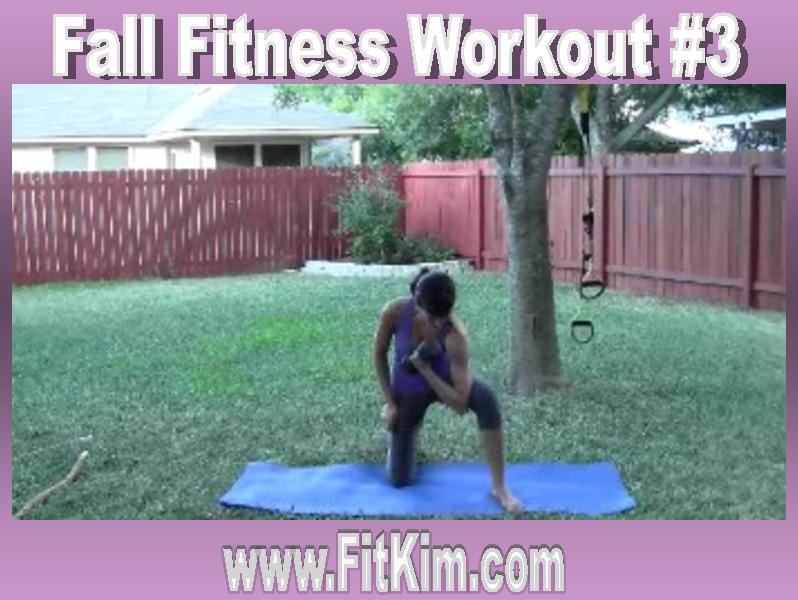 Fall Fitness Workout #3