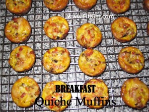 Breakfast Quiche Muffins-for FitKim
