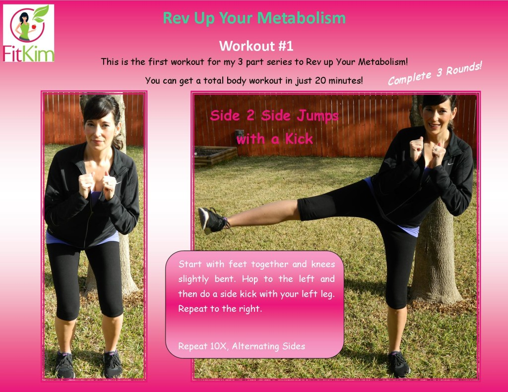 Rev Up Your Metabolism-Workout #1 COVER