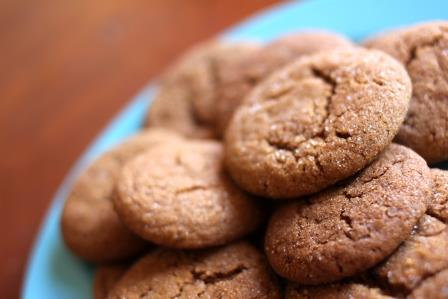 Molasses Cookies with a Healthy Twist-for web