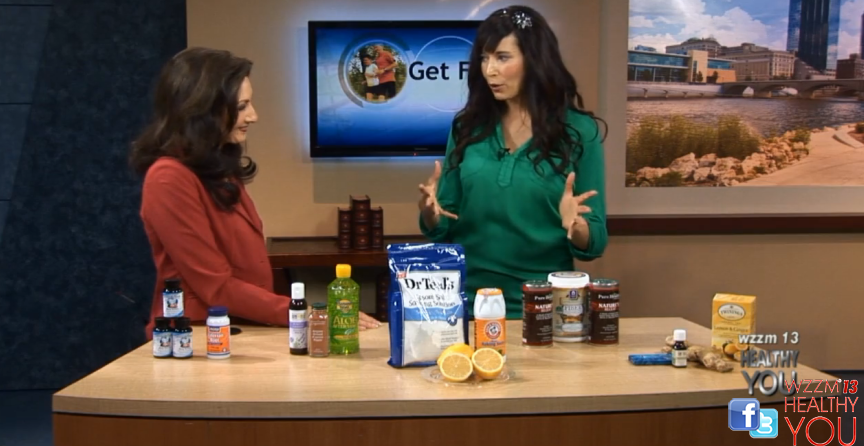 FitKim on WZZM 13-Nautral Remedies