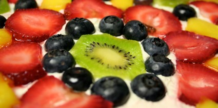 Fresh Fruit Pizza by Liza Lagman Sperl-for post