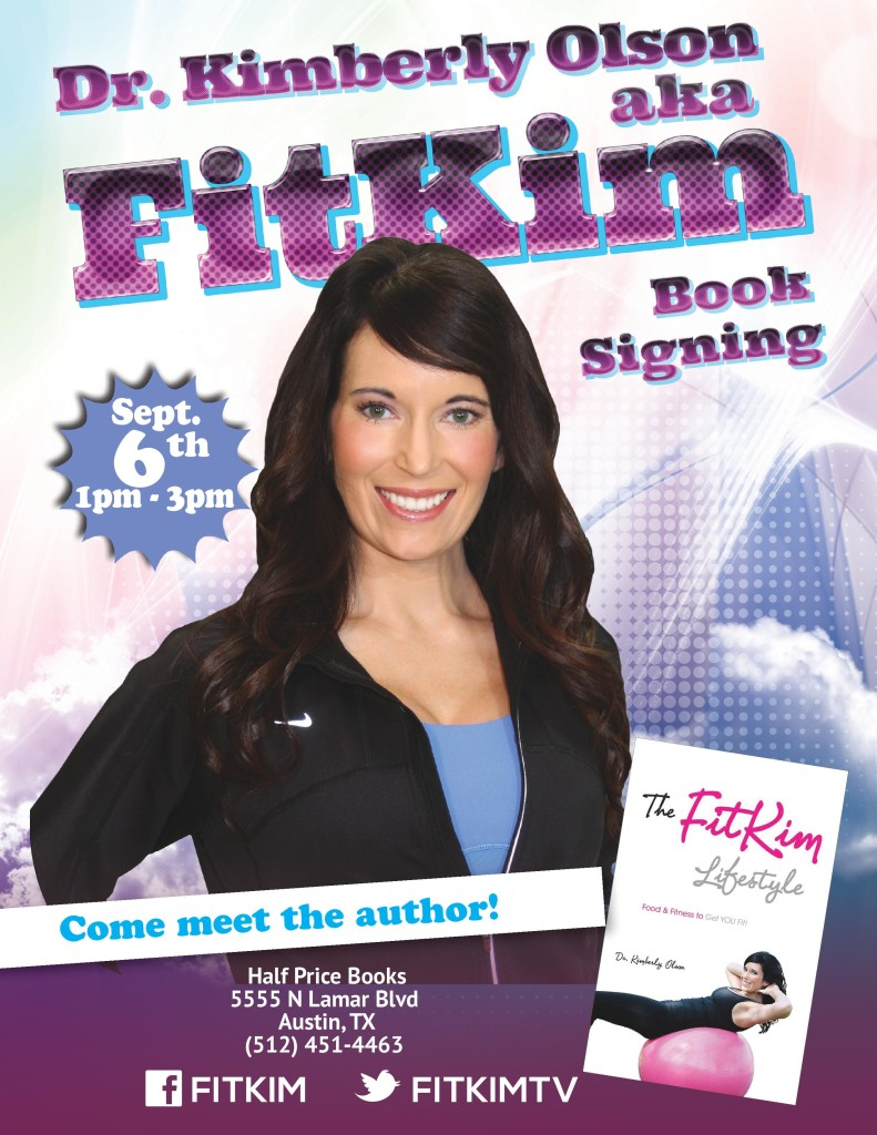 FitKim Book Signing @ Half Price Books | Austin | Texas | United States