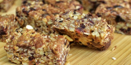 Healthy Homemade Granola Bars-for post