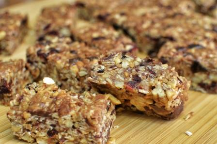 Healthy Homemade Granola Bars-for web