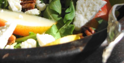 Pear & Walnut Summer Salad-for post