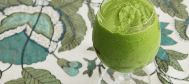 Tropical Green Smoothie for post