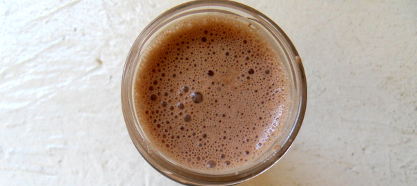 Chocolate Maca Shake-for post