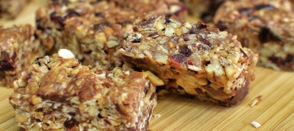 Healthy Homemade Granola Bars-for post