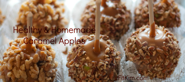 Healthy & Homemade Caramel Apples-FitKim