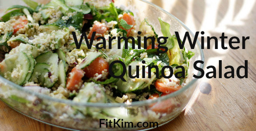 Warming Winter Quinoa Salad-FitKim
