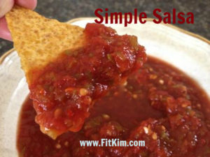 Simple Salsa-for FitKim