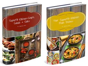 SuperFit Kitchen Cookbook Set
