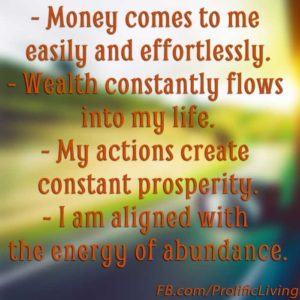 Affirmations-money