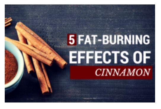 5 Fat-Burning Effects of Cinnamon